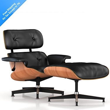 Eames - Famous chair and designer. Historical significance.... Very comfy too!