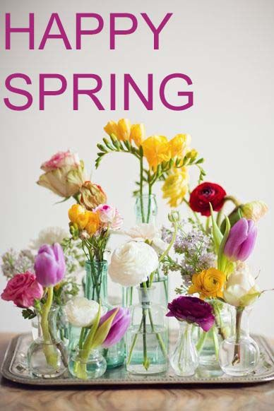 Happy first day of #spring