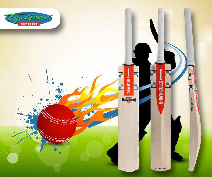 Feel the difference on the cricket field with #GrayNicolls cricket bats, which are built to perfection. Visit us in-store or contact us on 044 873 0626. #TopGearSport