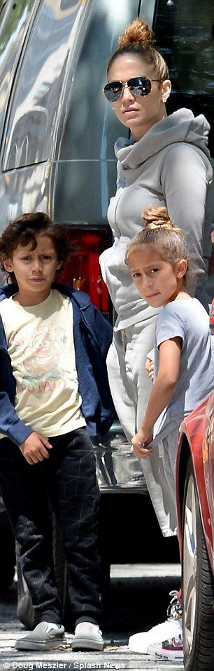 Fun! Twins Max and Emme appeared to be in good spirits as they were treated with face pain...