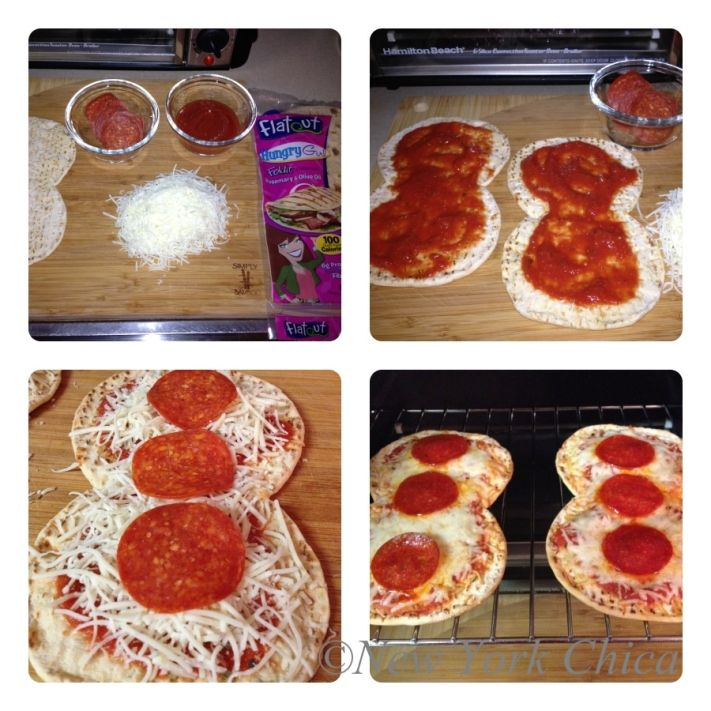 Pizza! Creating Recipes with Flatout Hungry Girl Foldit Flatbreads...I have also done this with low carb tortillas and Hormel low fat pepperoni. Gets me through a pizza craving!
