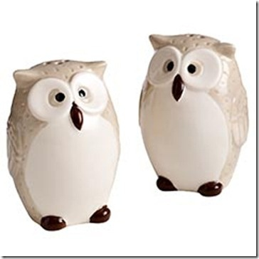 89 best images about salt pepper shakers on pinterest salt pepper shakers vintage and kitty cats - Owl salt and pepper grinders ...