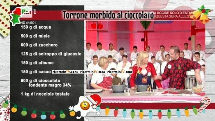 La prova del cuoco | Ricetta torrone morbido al cioccolato di Daniele Persegani