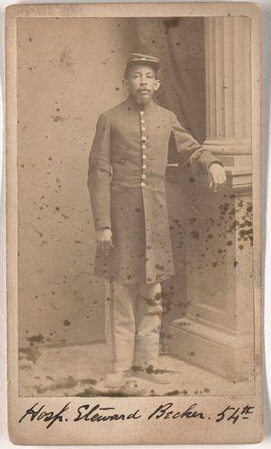 Hospital Steward Theodore J. Becker - The 54th Massachusetts Volunteer Infantry Regiment