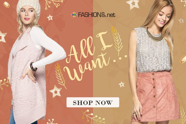FashionGo's got everything you could want for Christmas. Shop our vendors' holiday deals before it's too late! http://www.fashiongo.net/SpecialOffers