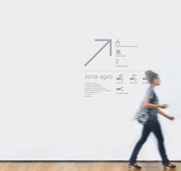 Señalética FAUBA - Wayfinding system by Juan Pablo Imbrogno, via Behance