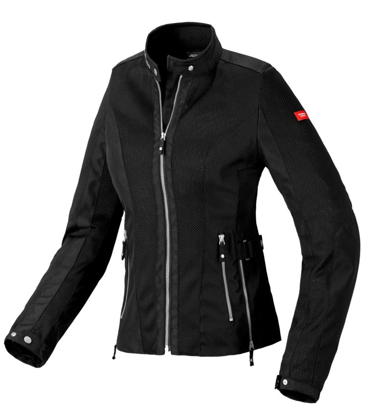 #Spidi Summernet Lady is a vented motorcycle jacket perfect for summer use. Made with technical highly abrasion resistant fabric and mesh to make your ride smooth. #MotozielRetail #Shopping #OnlineStore #OnlineShopping #MotorcycleJacket #BikerJackets #Biker #Rider #MotorcycleGears #RidingGears #Travel #Jackets