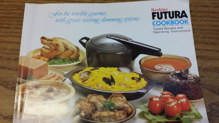 Hawkin's Futura Pressure Cooker User Manual And Cookbook #Hawkins