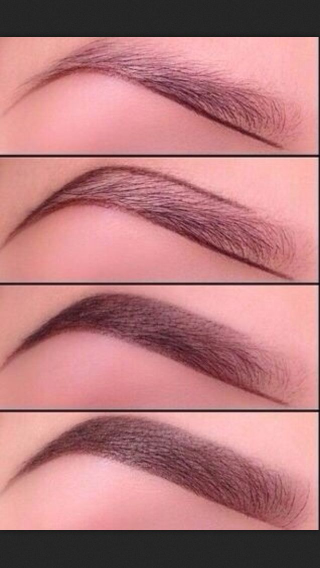 Eyebrows. Shaping and tinting. - ♥'d by http://makeupartistrycairns.com.au/