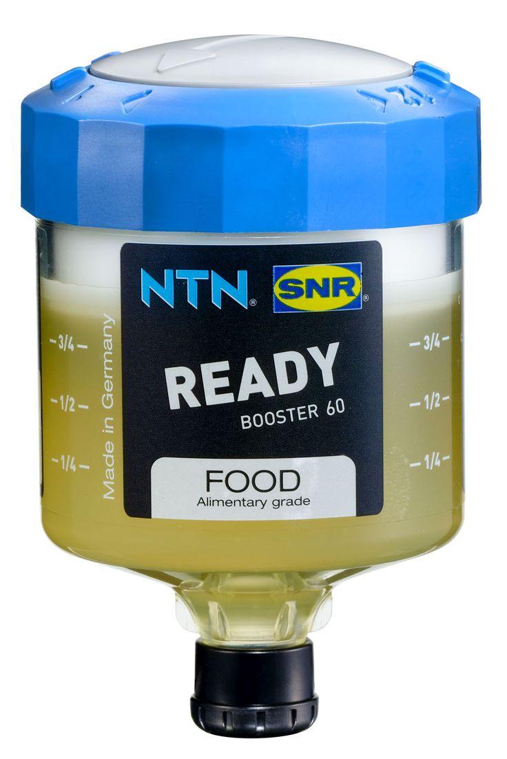 Single-point lubricator LUBER READY 60 FOOD, NTN-SNR (for food industry)