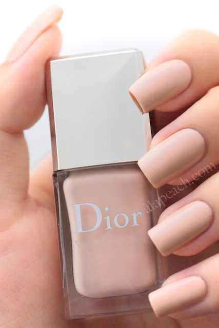 cool Nude Dior Nails