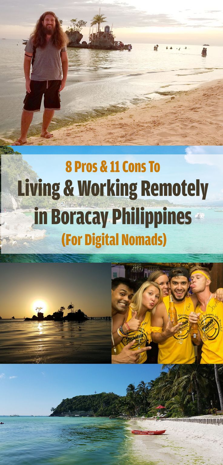 Boracay Philippines - Discover what it's like to live and work remotely in the island paradise