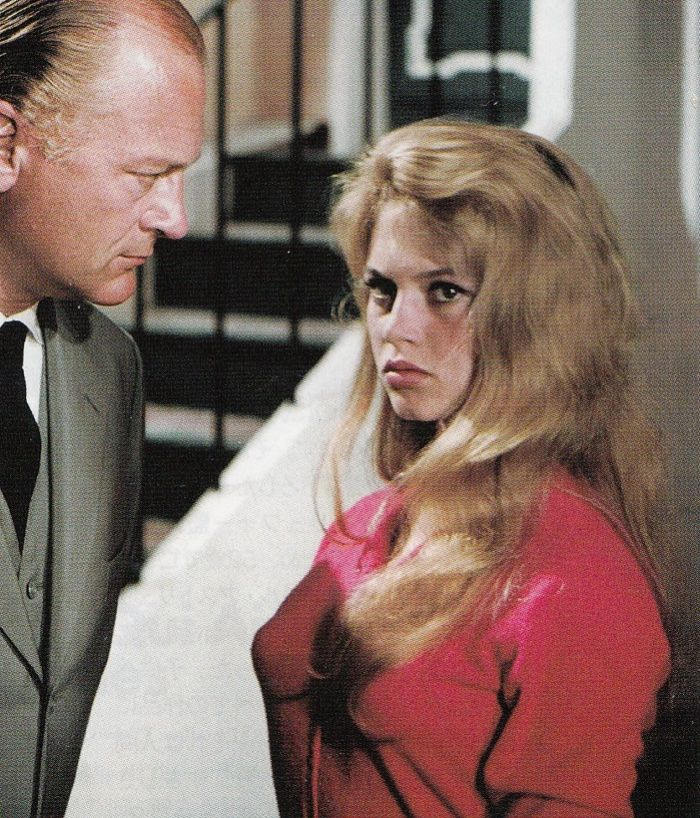 Curd Jurgens and Brigitte Bardot in And God Created Woman