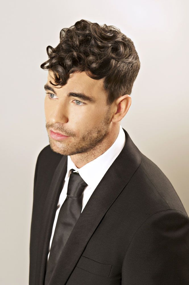 Quiff Hairstyle For Curly Hair Curly Hairstyle