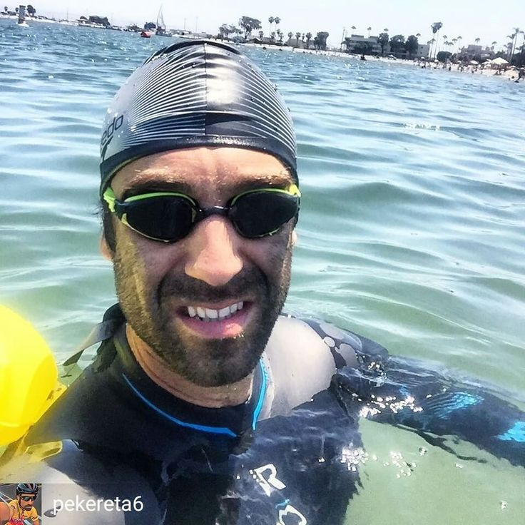 From @pekereta6 . . First open water swim 2.2km with the new Roka wetsuit #summer#triathlon#ironman#workout#openwater#roka#tyr#speedo#nike#triathlete#bike#triathlontraining#longbeach#training#healthylifestyle#followme #follow#natacion#newwave#triatlon#MP#constancia#motivacion#superacion#like4like
