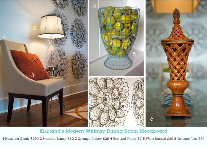 Warm And Cozy Dining Room Moodboard: 17 Best Images About Ideas From Kirkland's On Pinterest