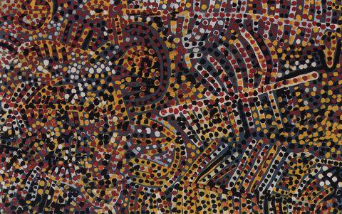 Artwork, 'Emu Woman' 1988-89