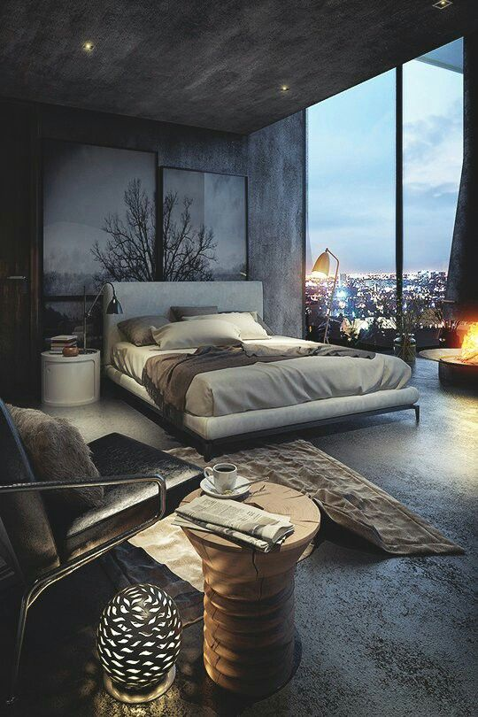 Elegant Best Modern Rustic Bedrooms Ideas Masculine Master Bedroom Dark And Cozy