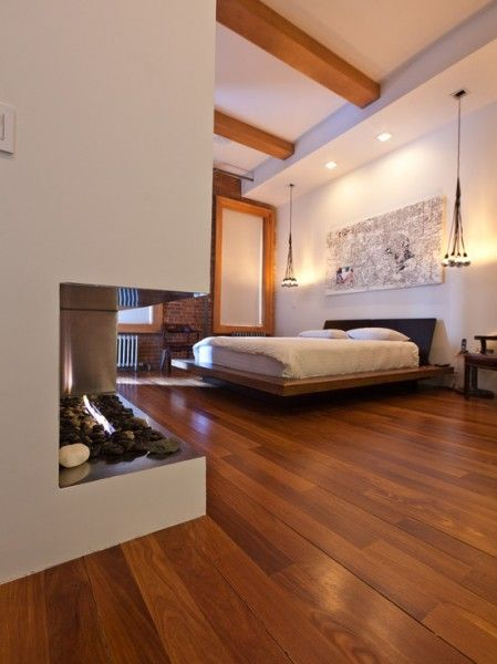Wooden flooring  #bedroom décor, beds, headboards, four poster, canopy, tufted, wooden, classical, contemporary bedroom, nightstand, walls, flooring, rugs, lamps, ceiling, window treatments, murals, art, lighting, mattress, bed linens, home décor, #interiordesign bedspreads, platform beds, leather, wooden beds, sofabed