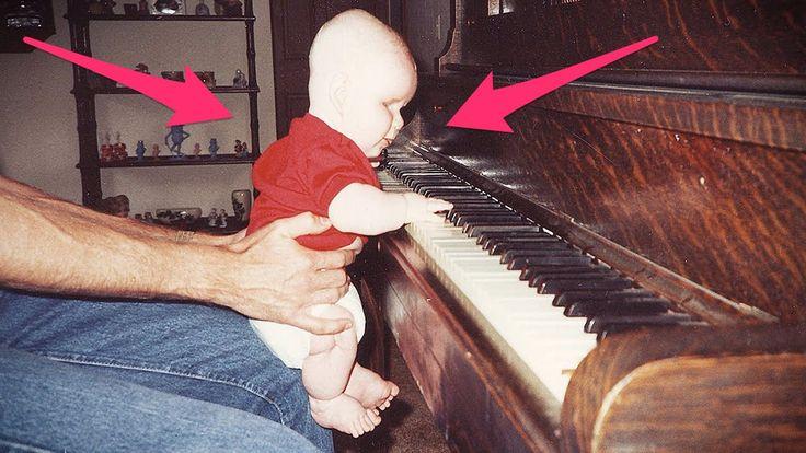 Este Niño Nacido Ciego, Sus Padres Lo Sentaron Frente De Un Piano Y Paso...