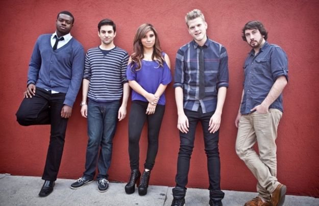 let me introduce you to Pentatonix. they are a five person A-capella group. look them up on youtube! i suggest starting with their cover of payphone by maroon 5. may i also suggest sup3rfruit!! :)