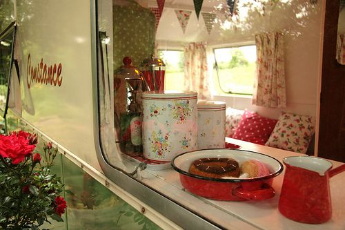 Constance trailer- through the window by snailtrail.co.uk vw camper hire, via Flickr