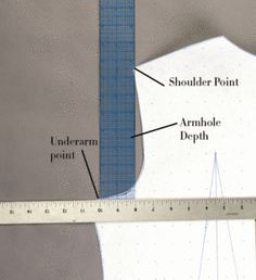 The proper way to make a sleeve pattern using an existing bodice pattern