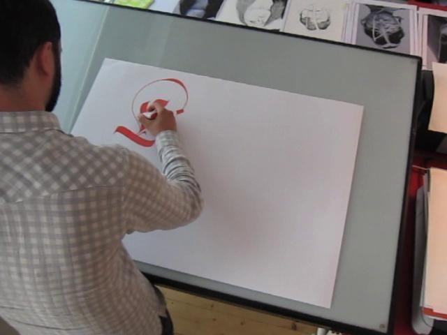El arte de tipografiar a mano... #SoyFan