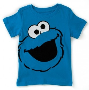 Toddler Cookie Monster Tee