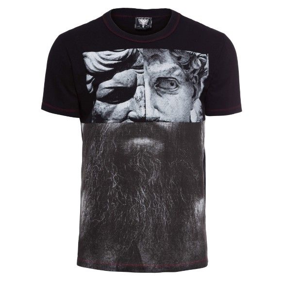 T-Shirt Cavalera Recorte Barba - cavalera
