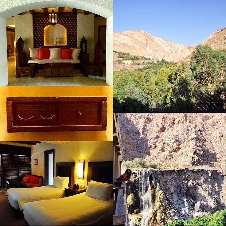 #shareyourjordan sta per concludersi la nostra ultima tappa è Ma'in dove in uno scenario spettacolare si trova l'hotel Evason struttura termale che beneficia delle calde sorgenti ricche di zolfo. #gojordan