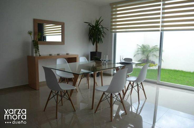 Casa muestra : Comedores minimalistas de Xarzamora Diseño