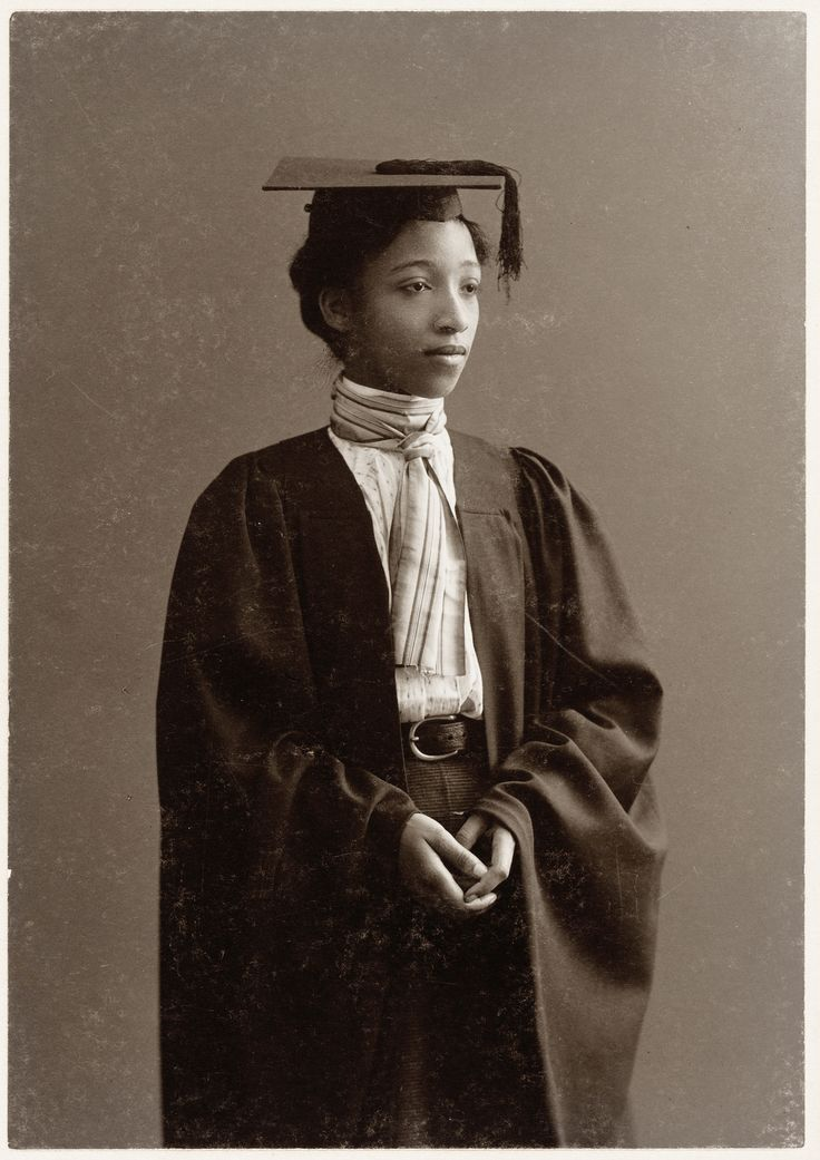 """""""Alberta Virginia Scott, a resident of Cambridgeport, was the first African American graduate of Radcliffe College. Alberta was born near Richmond, Virginia, the daughter of Smith and Fanny Bunch Scott. When she was six years old, her family moved to Cambridge, where they lived in several locations in the """"lower Port,"""" a traditionally black neighborhood near Kendall Square that has been replaced with office buildings. Her father, a boiler tender and stationary engineer, was a deacon at the…"""