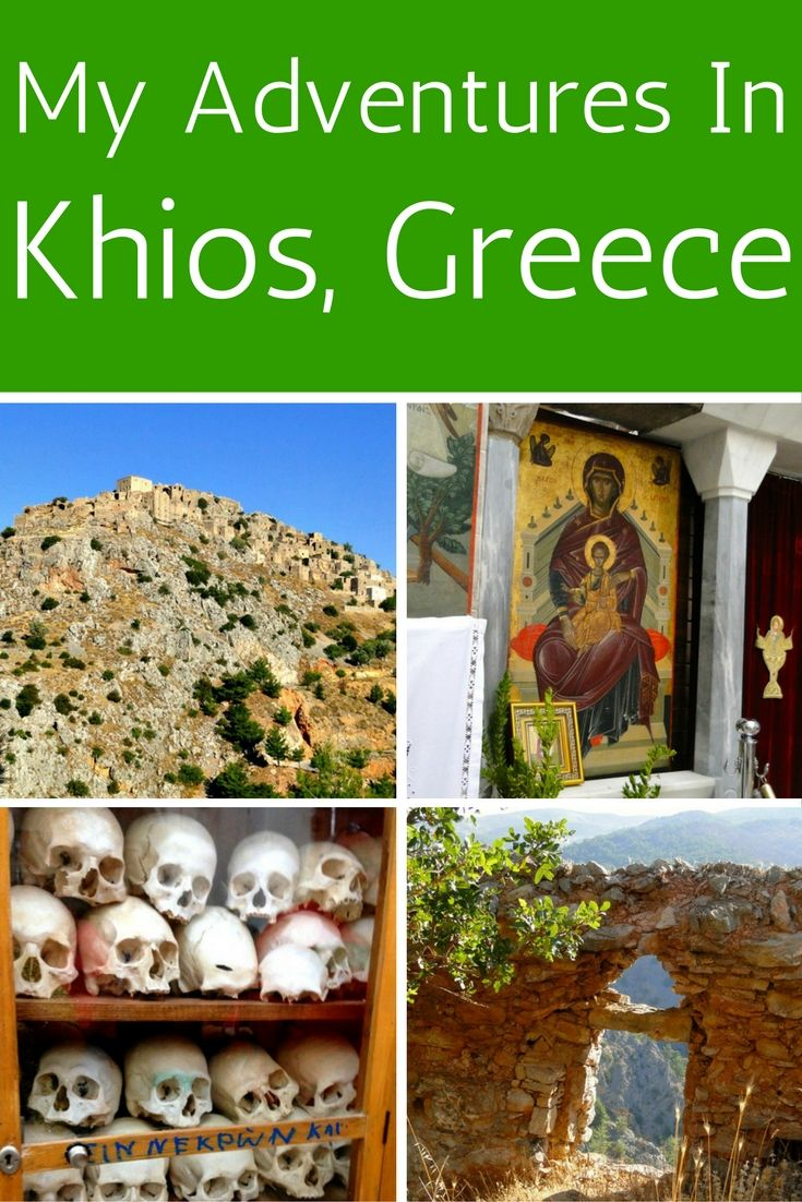My adventures in Khios, Greece were amazing! On my trip, we visited ancient monasteries and the medieval village of Avgonima, both UNESCO World Heritage Sites.
