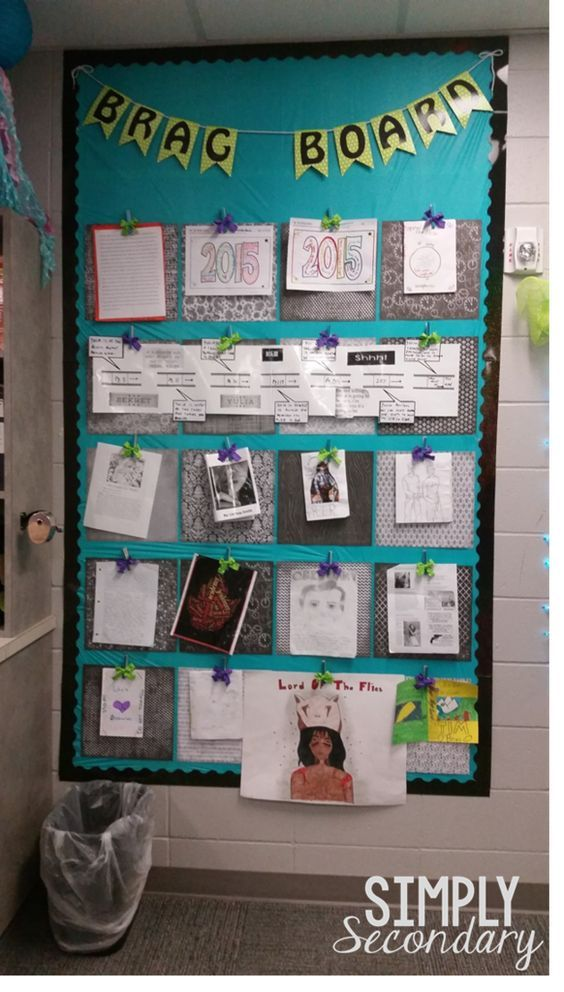 364 best bulletin board ideas images on pinterest for Bulletin board organization