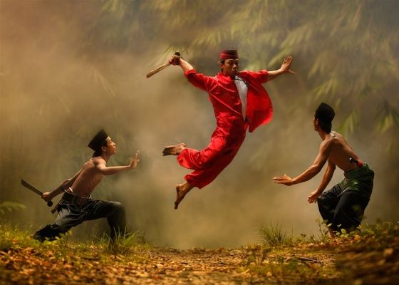 Silat Betawi - Martial Arts from Jakarta, Indonesia.