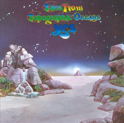 "Tales from Topographic Oceans - Yes. So, here is a coincidence. I load up onto one of my iPods in advance all the records for any one run through the alphabet. This Yes record for ""T"" has been loaded for two weeks. Today I'm on ""T."" Rest in peace, Chris Squire."