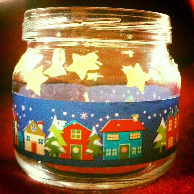 Portacandele natalizio - per una ⭐