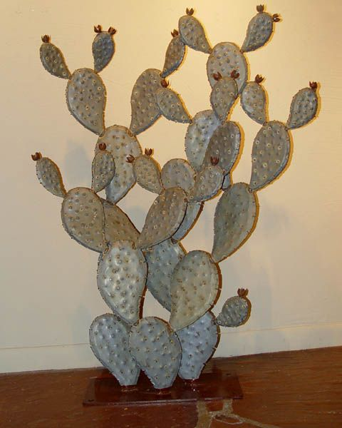 31 Best Metal Cacti And Plants For Patio Images On