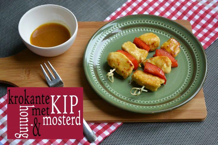 Krokante Kip met Honing en Mosterd