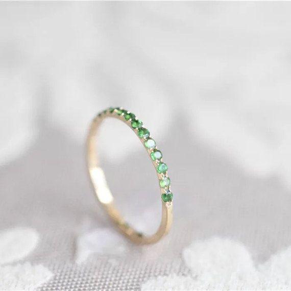 Moonstone Engagement Ring Vintage Anqitue Blue 14k 18k Rose Gold Wedding