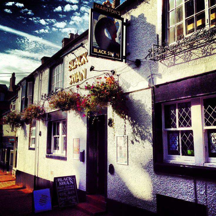 The Black Swan pub in Leek http://www.lifeinnortherntowns.com/2013/10/leek-staffordshire.html