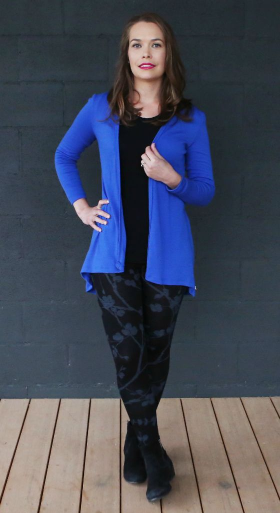 Woolerina cardi, top and pants