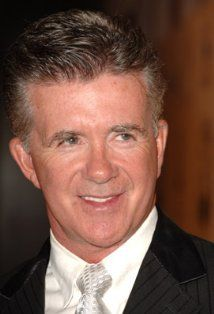 """Alan Thicke  (1947-2016) Actor best known as Jason Seaver, the dad of the TV series """"Growing Pains"""", died Dec 13th at the age of 69."""