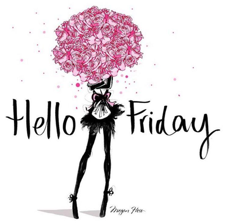 Hello FRIDAY! / Megan Hess Illustration