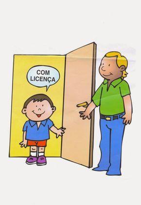 É muito importante ter em sala de aula cartazes de  palavras mágicas  ou boas maneiras.  Assim você incentiva as crianças a agirem sempre...