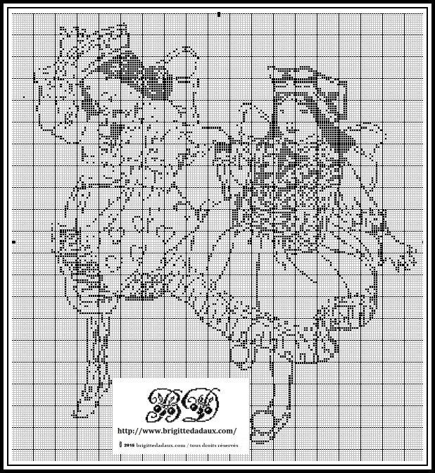 grille gratuite point de croix (avec images)   Coudre et broder, A imprimer, Point de croix