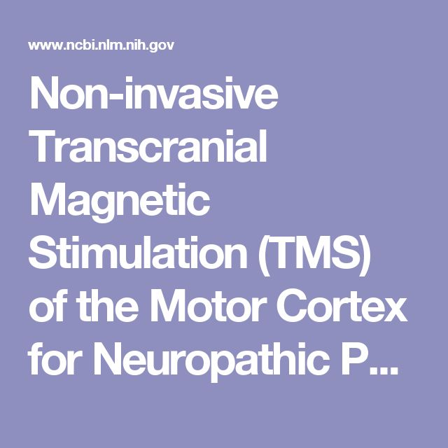 Non-invasive Transcranial Magnetic Stimulation (TMS) of the Motor Cortex for Neuropathic Pain—At the Tipping Point?