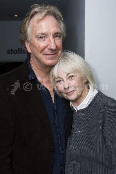 "2008 - Alan Rickman & Geraldine McEwan - they were in ""Barchester Chronicals"" and ""Robin Hood: Prince of Thieves"" together."
