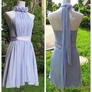 Buy 'Bridal Workshop – Halter Neck Rosette Party Dress' with Free Shipping at YesStyle.com.au. Browse and shop for thousands of Asian fashion items from China and more!